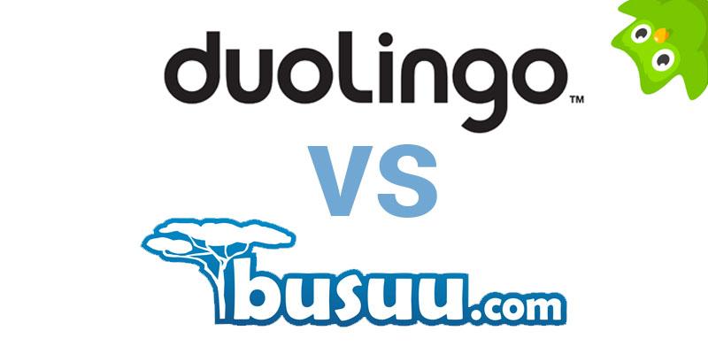 duolingo vs busuu header image